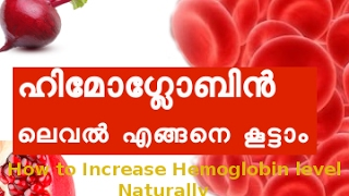 ശരീരത്തില് ഹിമോഗ്ലോബിന് ലെവല് എങ്ങനെ കൂട്ടാം How to Increase Hemoglobin level