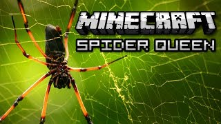 Minecraft: COMMAND A SPIDER ARMY! - Spider Queen Mod Showcase