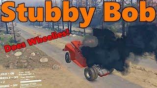 Spin Tires   Stubby Bob Wheelie Truck