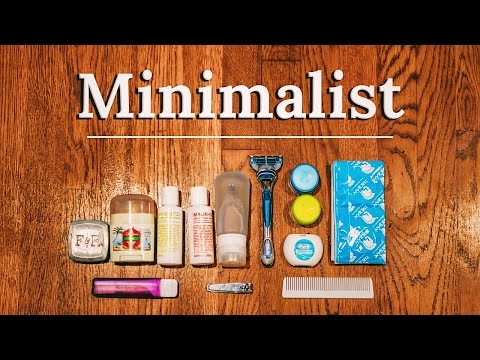 PACKING TOILETRIES Minimalist Essentials BAGS & Pro DIY Tips ✈🌎