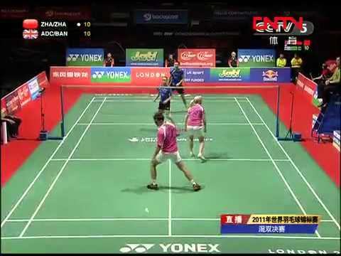 [2011 World Championships BXD-F] Zhang Nan/Zhao Yun Lei vs Chris Adcock/Imogen Bankier [3]
