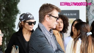 Lisa Rinna & Harry Hamlin Share A Kiss While Leaving Lunch At Fig & Olive In West Hollywood 2.16.19