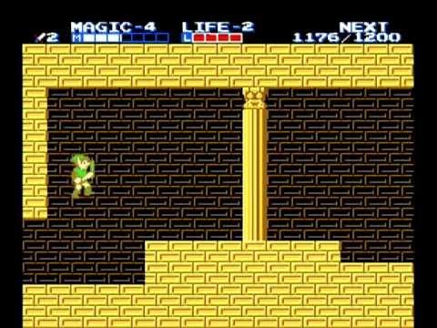 Zelda 2 - Glitched Any% Speed Run (19:26 min)