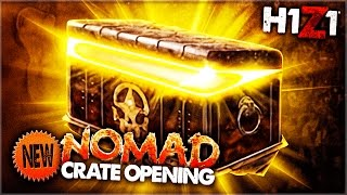INSANE BRAND NEW H1Z1 CRATE OPENING!!! (H1Z1: KOTK Crate Opening)
