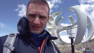 400W Chinese Ebay Latern Vertical Wind Turbine Performance