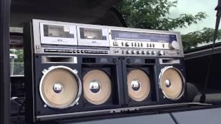 SHARP GF1000 boombox ghettoblaster