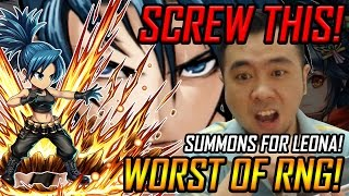 Screw This! Worst of RNG! Summons for Leona (BF x KOF Collab Event)