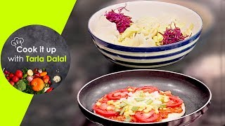 Cook It Up With Tarla Dalal - Ep 9- Apple & Potato Salad, Spinach & Mushroom Pasta, Margherita Pizza