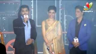 Simbu thanks Shahrukh Khan for Lungi Dance | Tribute to Rajini in Chennai Express | STR, SRK