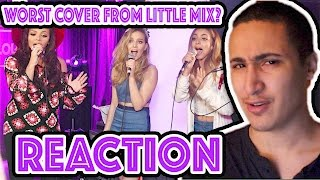 Little Mix - Dance With Somebody (Whitney Houston cover in the Live Lounge) REACTION