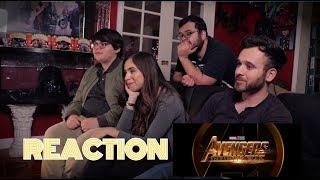 REACTION - Avengers: Infinity War Trailer