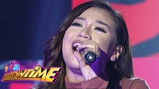 It's Showtime: Morissette Amon sings