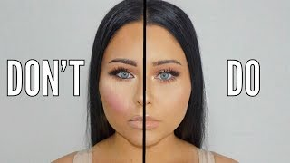 Makeup DO's & DON'Ts - Mistakes to Avoid 2017