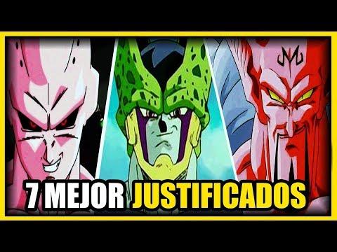 LOS 7 ENEMIGOS MEJOR JUSTIFICADOS EN PODER | DRAGON BALL SUPER | Z | GT | ANZU361