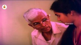 Madhavi's Grand Father Gives Advices To Her || Funny Scene || Amavasya Chandrudu Movie Scenes