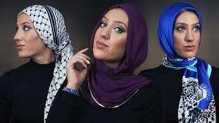 1 Woman + 7 Hijab Styles