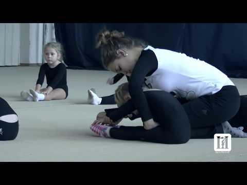 Rhythmic Gymnastics Training children Кстово 15.11.2014