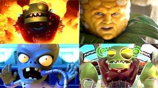 Plants vs. Zombies: Garden Warfare 2 - Full Movie / All Cinematic Cutscenes | PvZ Garden Warfare 2