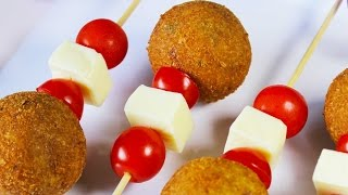 Crunchy Vegetable Lollipops | Easy Snack Recipe For Kids | Kanak's Kitchen
