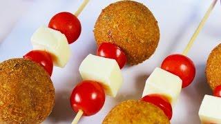 Crunchy Vegetable Lollipops | Easy Snack Recipe For Kids | Kanak's Kitchen
