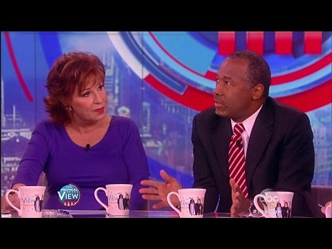 Ben Carson Defends His Endorsement of Donald Trump The View