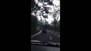 Daihatsu xenia type M 1000cc berat di tanjakan daerah bandung