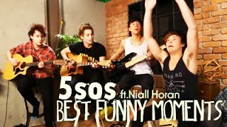 5 Seconds Of Summer - Best Funny Moments (ft.Niall Horan) 2014