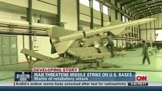 Iran threatens U.S. bases in Middle East