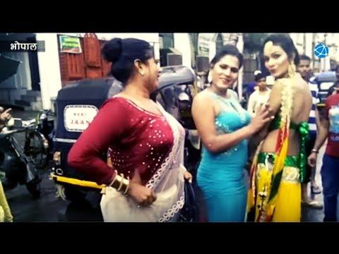 Xxx Mp4 Transgenders Celebrating Bhujariya Festival In Bhopal Hijra Kinnaro Ka Utsav MP 3gp Sex
