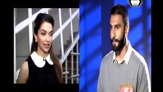 """WATCH: Ranveer Singh calls Deepika """"Meri Wali"""""""
