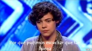 Audicion Harry Styles Subtitulada en español (The X factor 2010)