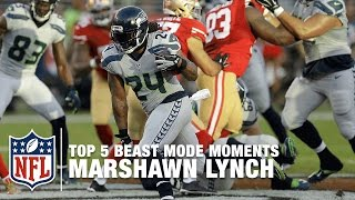 Marshawn Lynch's Top 5 Beast Mode Moments | NFL