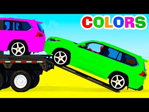 Xxx Mp4 Colors SUV Cars Transportation Learn Numbers With Superhero Amp Colors For Kids Educational Video 3gp Sex