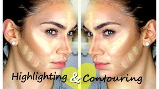 My Cream Contouring & Highlighting Routine (Like Kim Kardashian's) | Ruby Golani