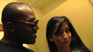 Bathroom chat with  Nadia Ali