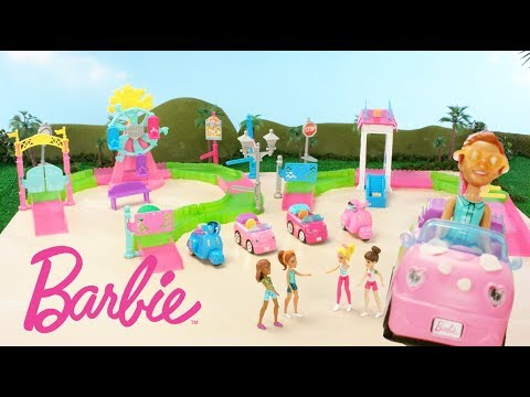 Xxx Mp4 Barbie™ On The Go Car Wash Is On The Track To Fun Barbie 3gp Sex