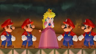New Super Mario Bros Wii - Multiple Marios Hack
