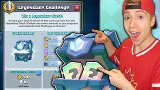 LEGENDARY CHALLENGE!! + NEW Balance Changes! Let's Go For 12 Wins! | Clash Royale