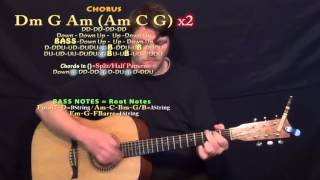 Adventure of A Lifetime (Coldplay) Guitar Lesson Chord Chart