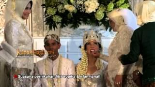 Adat Sunda Hiasi Resepsi Pernikahan Fitri Tropica