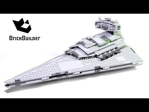 Lego Star Wars 75055 Imperial Star Destroyer - Lego Speed Build