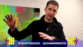 CHARRON SPEAKS ON CHANCES OF BATTLING RONE AND BEFORE THE CORTEZ BATTLE AT BLACKOUT 6