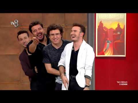 Mustafa Ceceli ve 3 Adam'dan Süpürge Dansı! | 3 Adam