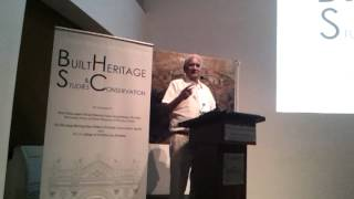 Charles Correa at Heritage Course Launch