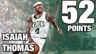 Isaiah Thomas 52 Points! 29 in the 4th Quarter | 12.30.16