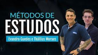 Método de estudos com  Thállius Moraes -  Como estudar para  Carreiras Tribunais - AO VIVO - Alfacon