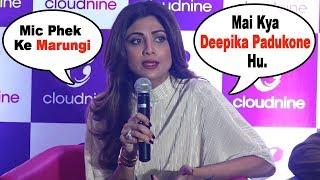 Shilpa Shetty INSULTS Media Reporter for Asking About Padmavati Controversy