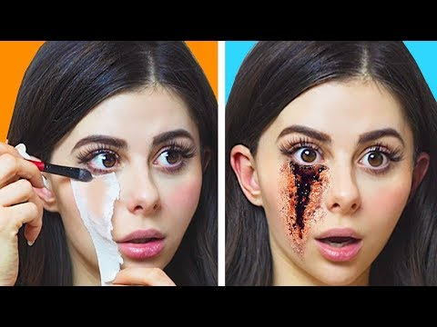 DIY TV and SFX MOVIE MAKEUP that actually work
