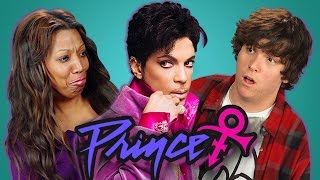 ADULTS REACT TO PRINCE (Purple Rain, When Doves Cry)