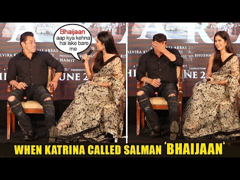 Xxx Mp4 Salman Khan 39 S Hilarious Reaction When Katrina Kaif Calls Him 39 Bhaijaan 39 In Front Of World Media 3gp Sex